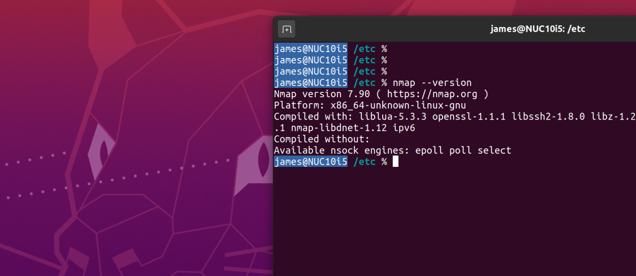 A new version of Nmap has been unleashed.